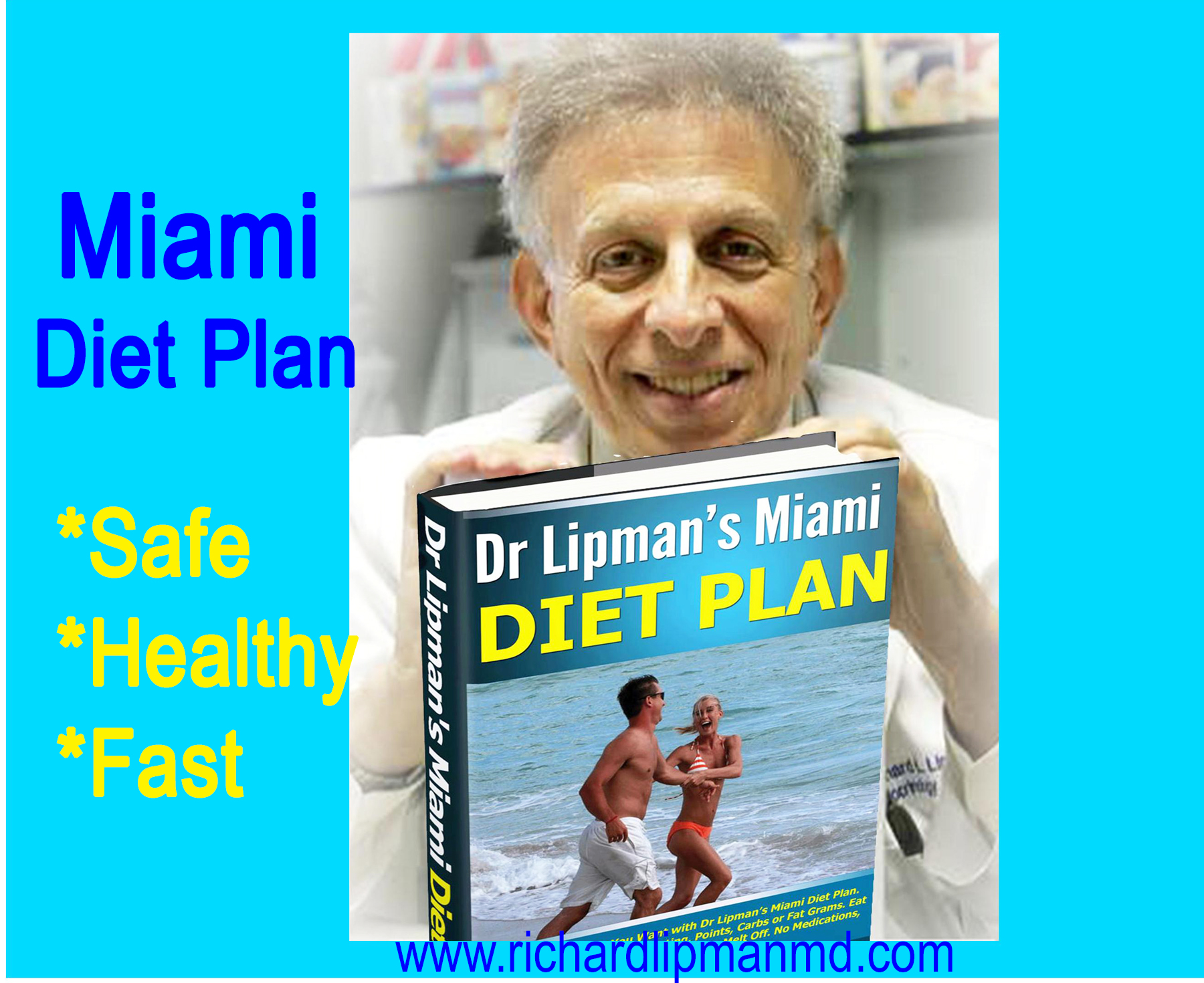 Miami diet plan, safe, fast, healthy weight loss without exercise and cravings