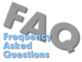 frequently asked questions FAQ