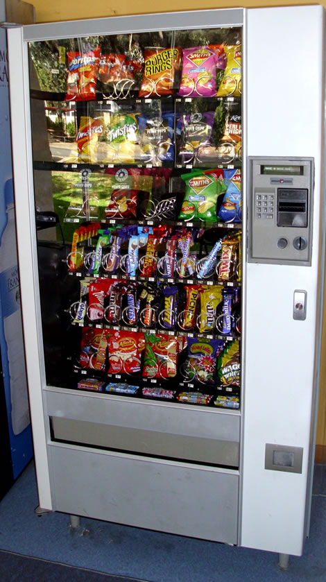 Junk Food Vending Machine
