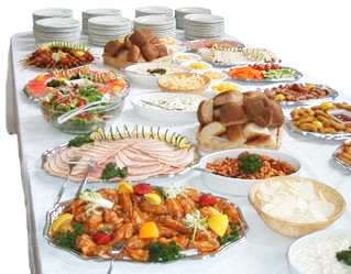 Buffet eating is associated with weight gain due to massive portions and multiple choices of high calorie foods