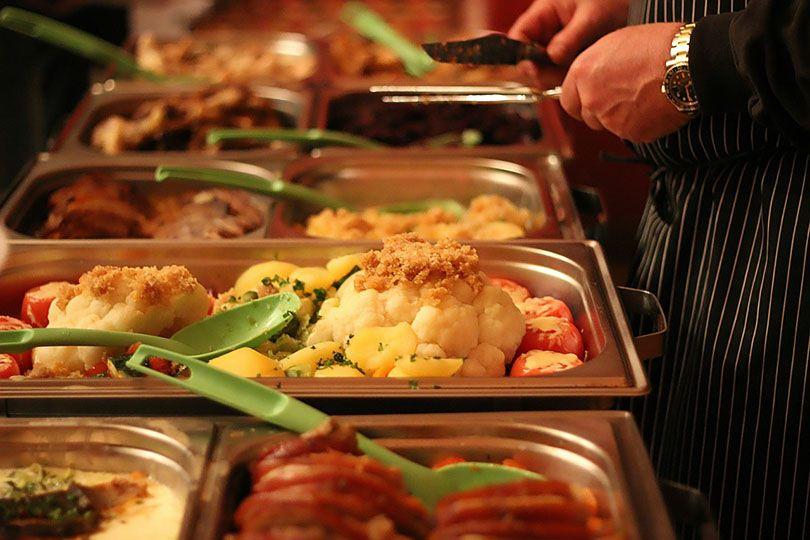 Buffet Restaurant Eating