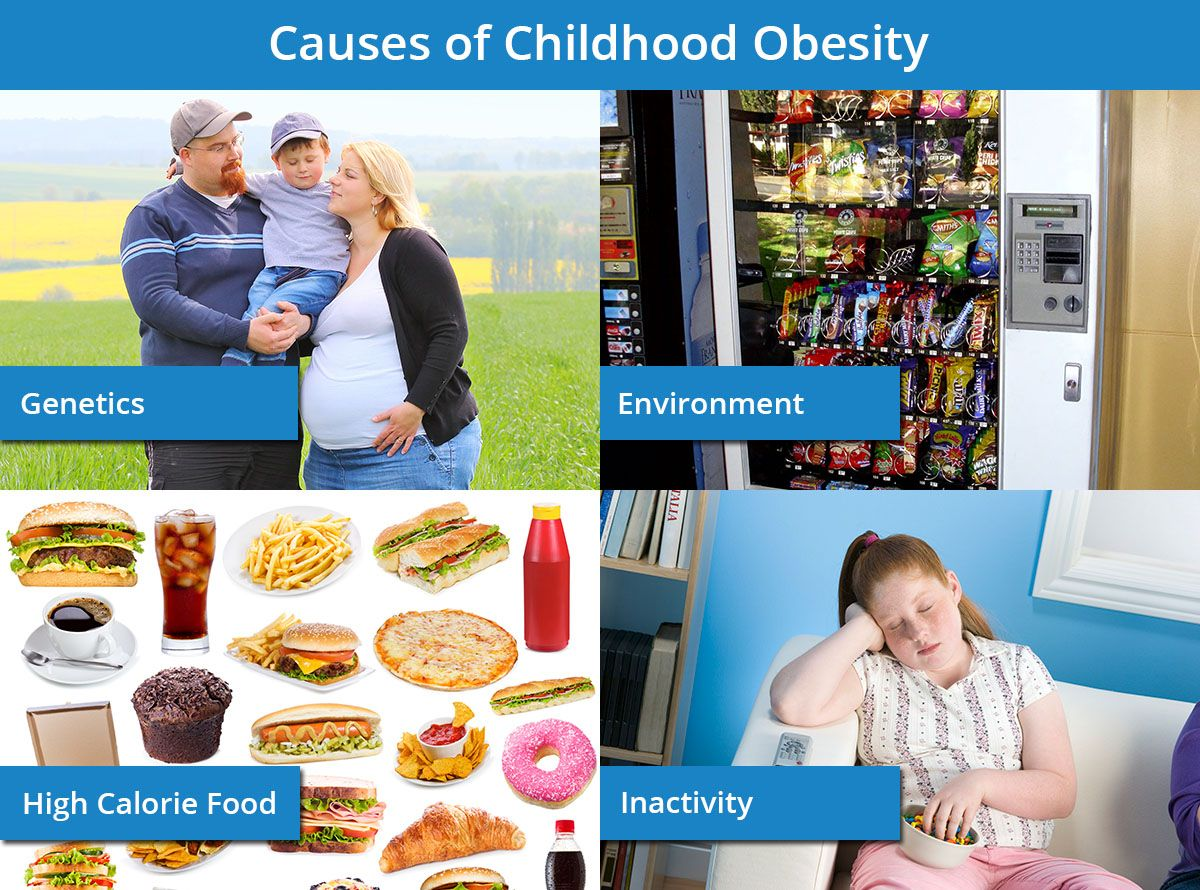 Weight loss for kids - childhood obesity