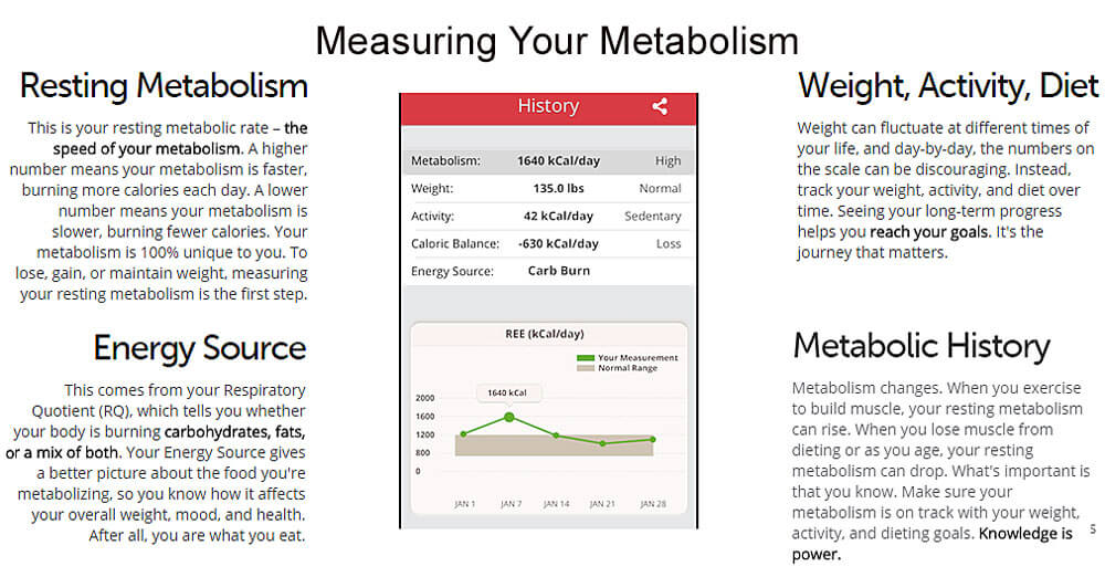Measurement to Boost Metabolism