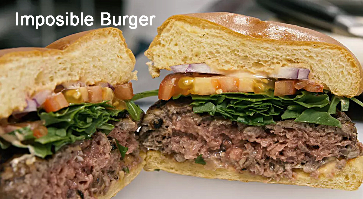 Impossible Burger: meat less burger with great taste
