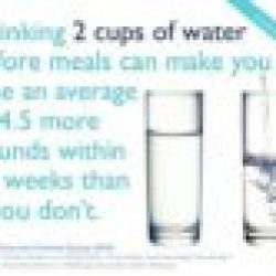 quick weight loss with drinking water